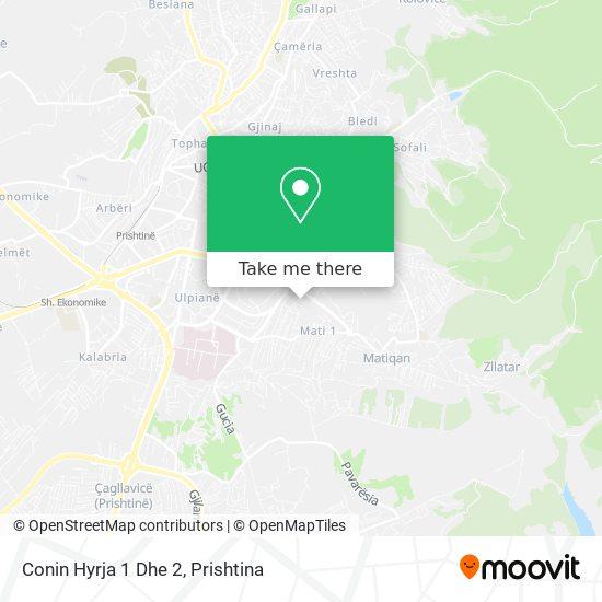 Conin Hyrja 1 Dhe 2 map