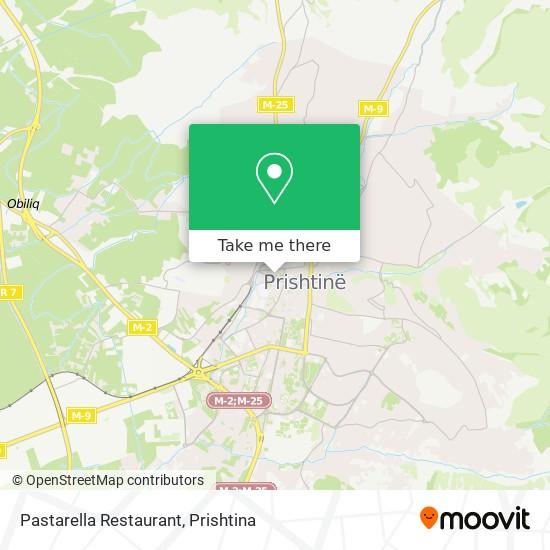 Pastarella Restaurant map