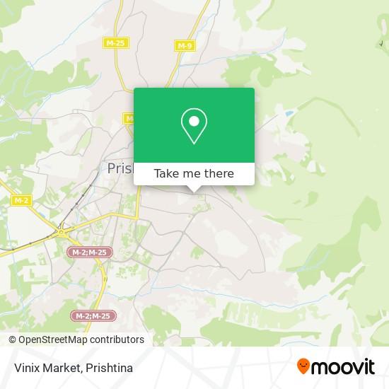 Vinix Market map