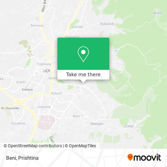 Beni map