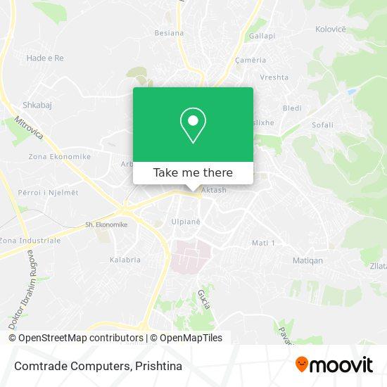 Comtrade Computers map