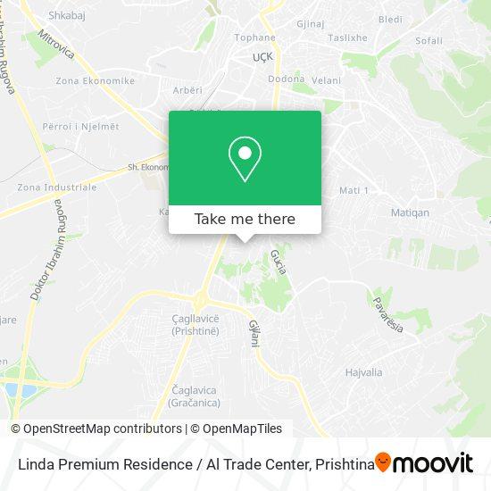 Linda Premium Residence map