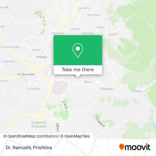 Dr. Ramushi map