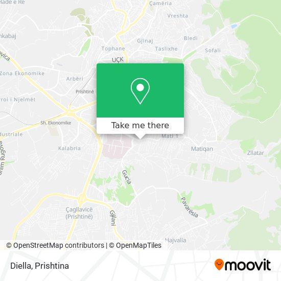 Diella map