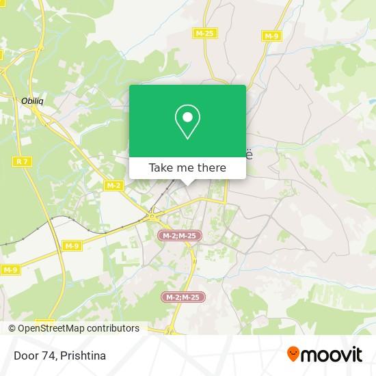 Door 74 map
