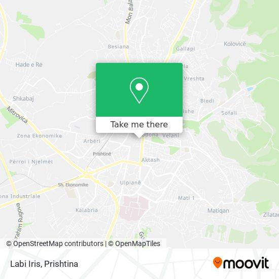 Labi Iris map