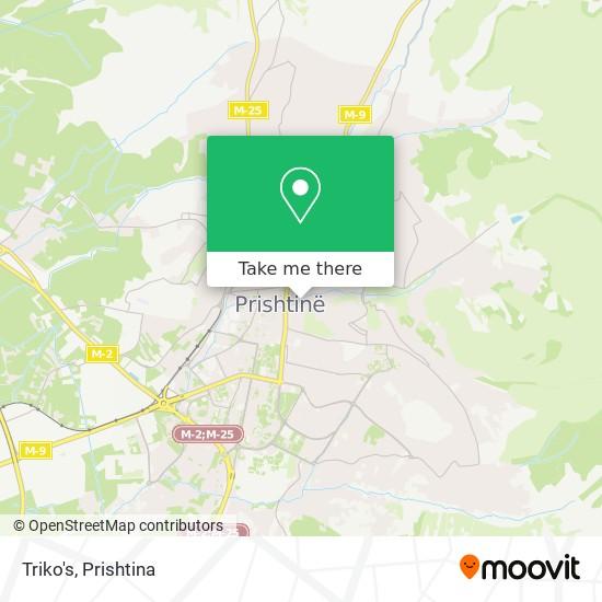 Triko's map