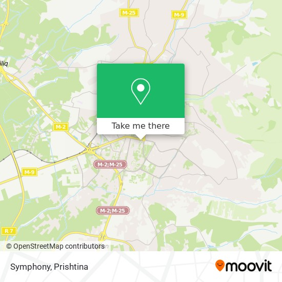 Symphony map