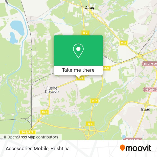 Accessories Mobile map