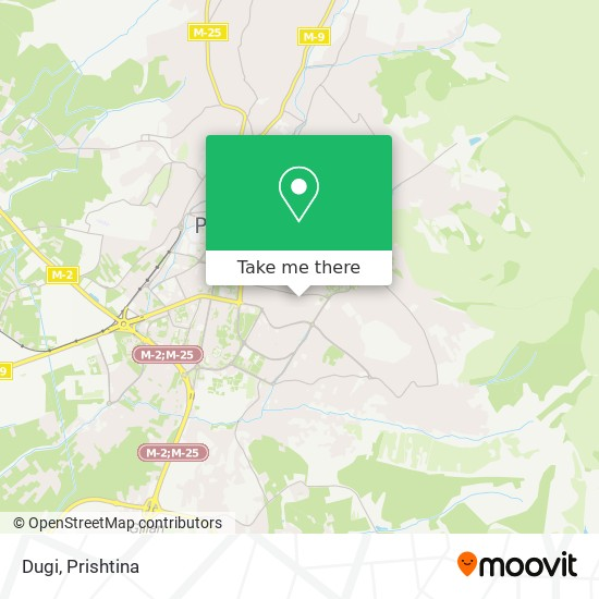 Dugi map