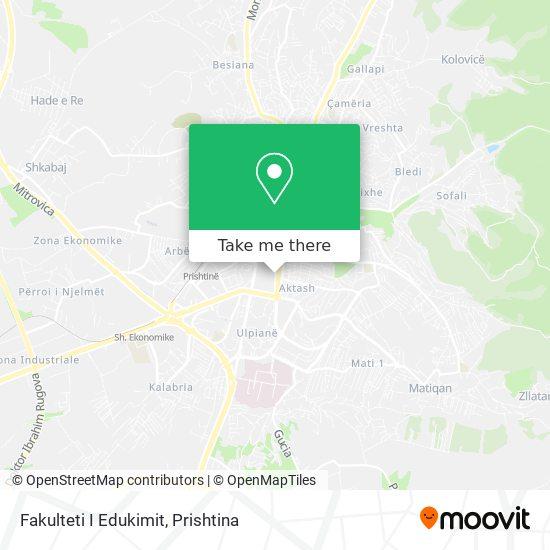 Fakulteti I Edukimit map