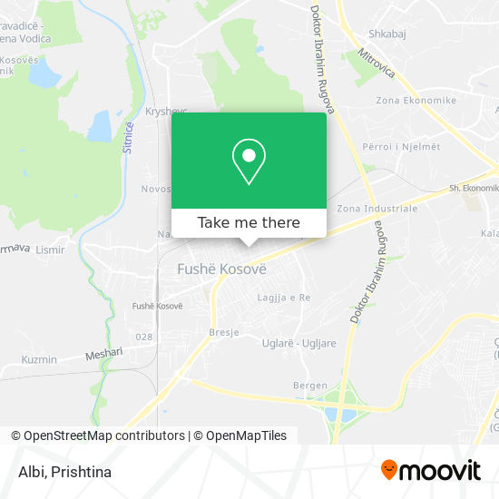 Albi map