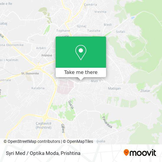 Syri Med / Optika Moda map