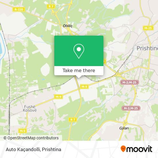 Auto Kaçandolli map