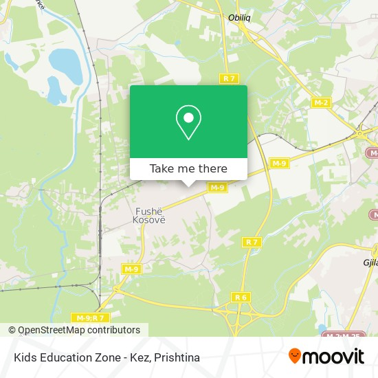 Kids Education Zone - Kez map