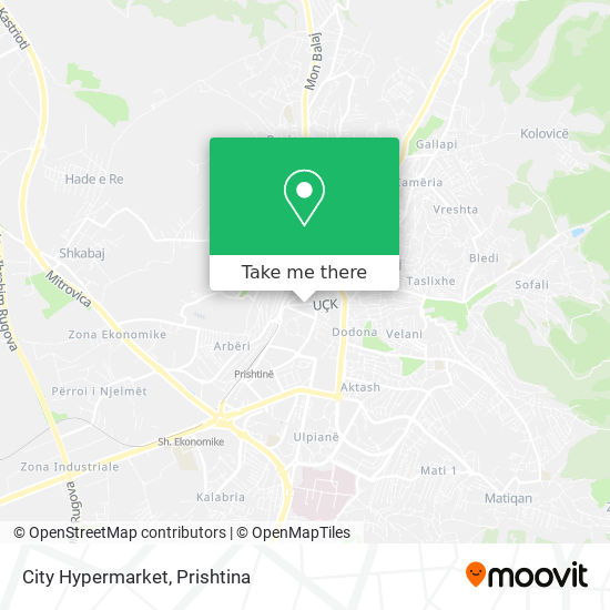 City Hypermarket map