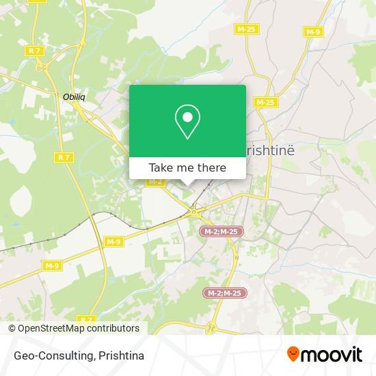 Geo-Consulting map