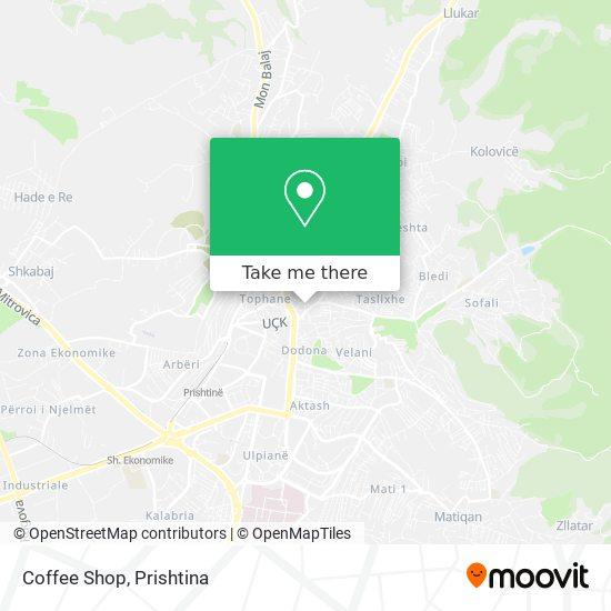 Coffee Shop map