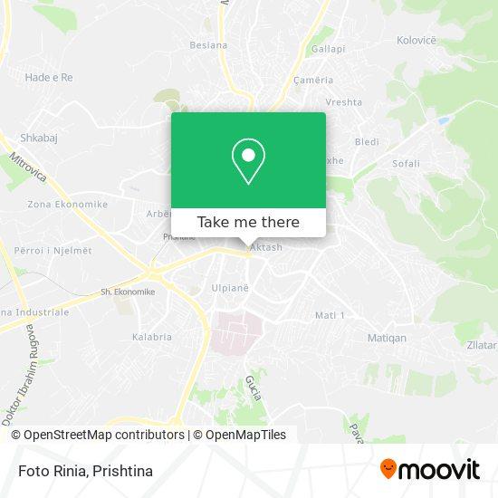 Foto Rinia map