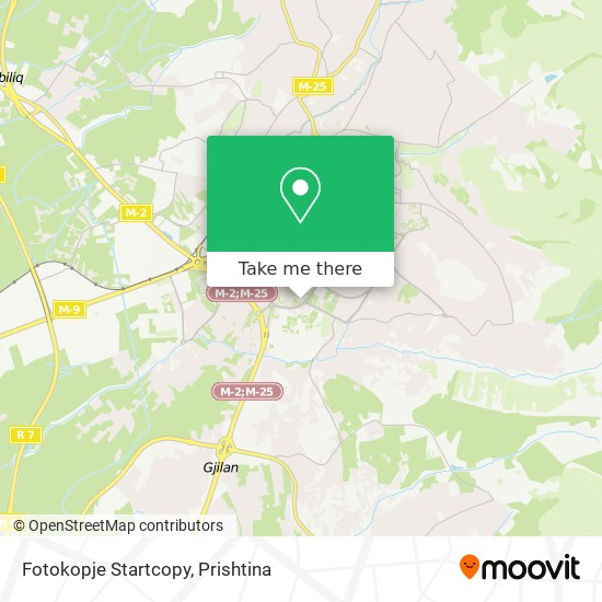 Fotokopje Startcopy map