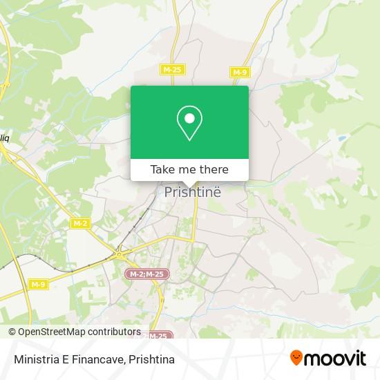 Ministria E Financave map