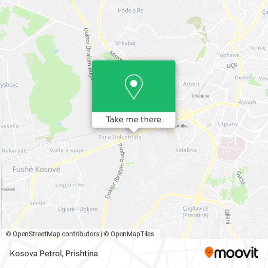 Kosova Petrol map