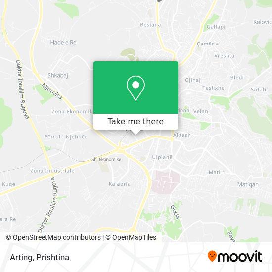 Arting map