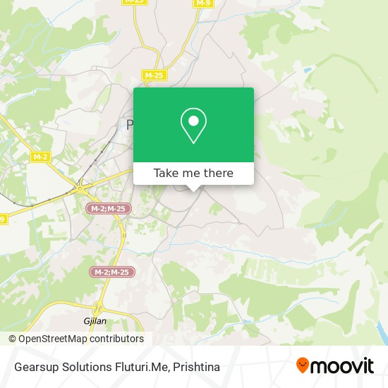 Gearsup Solutions Fluturi.Me map