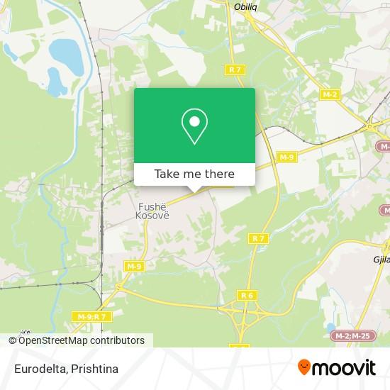 Eurodelta map