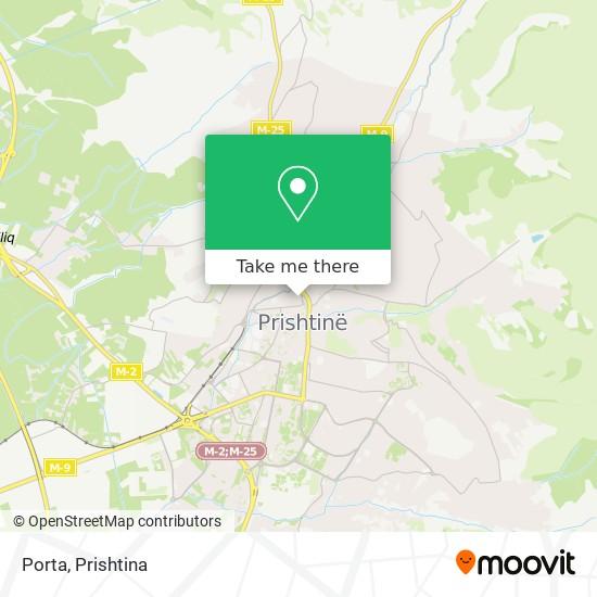 Porta map
