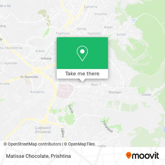 Matisse Chocolate map