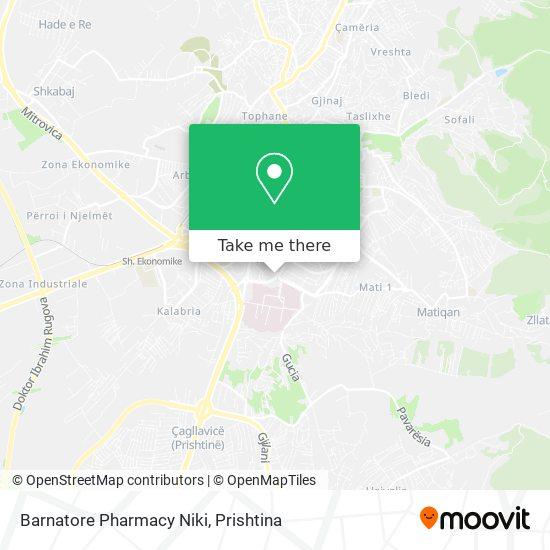 Barnatore Pharmacy Niki map