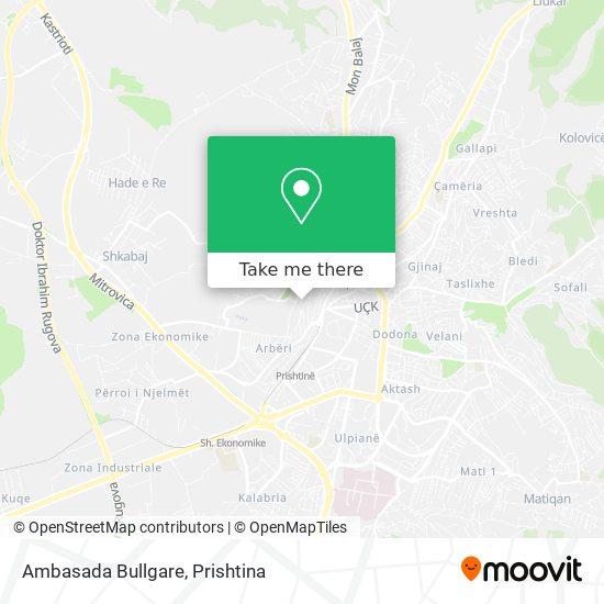 Ambasada Bullgare map