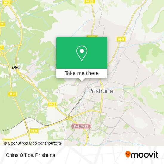 China Office map