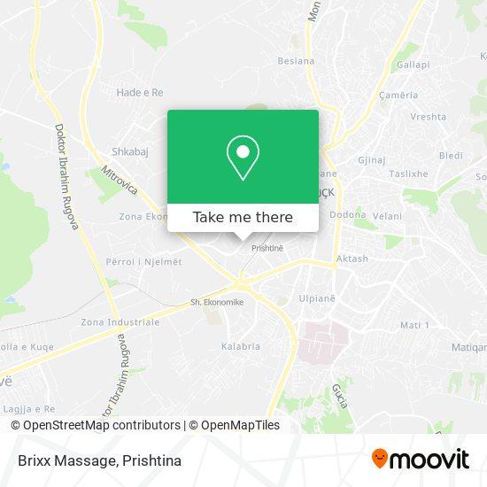 Brixx Massage map