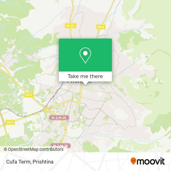 Cufa Term map