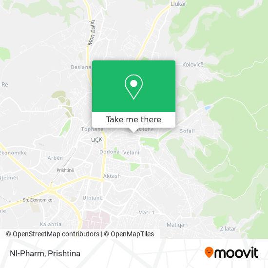 Nl-Pharm map