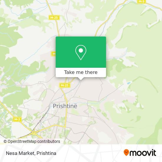 Nesa Market map