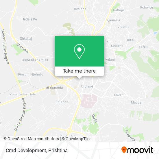 Cmd Development map