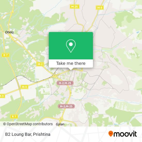 B2 Loung Bar map