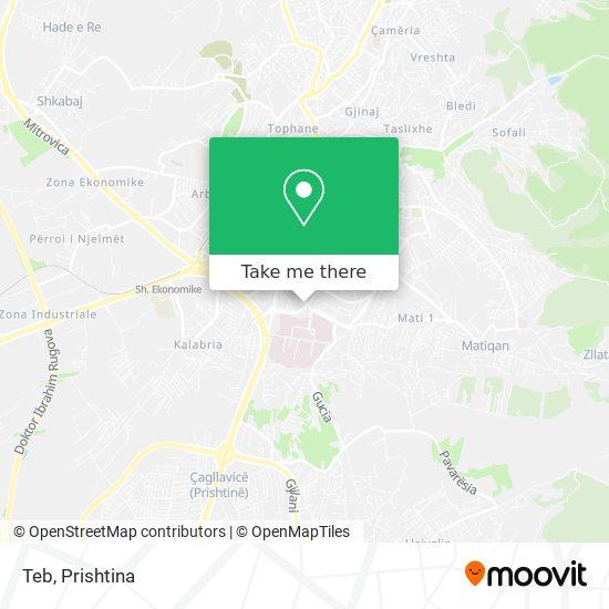 Teb map