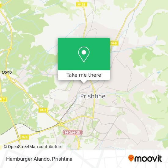 Hamburger Alando map