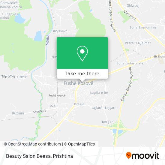 Beauty Salon Beesa map