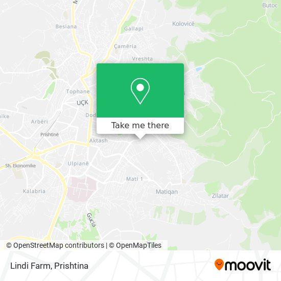 Lindi Farm map