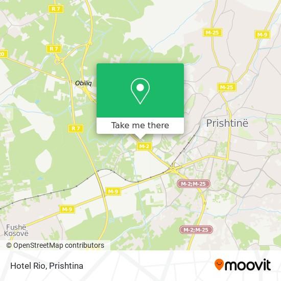 Hotel Rio map