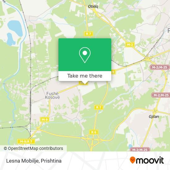 Lesna Mobilje map