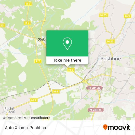 Auto Xhama map