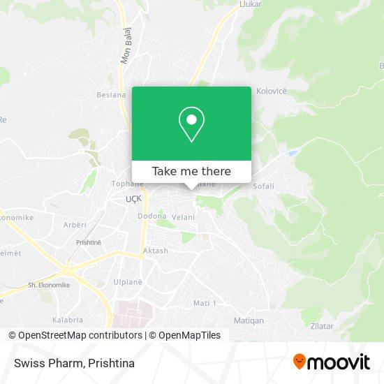 Swiss Pharm map