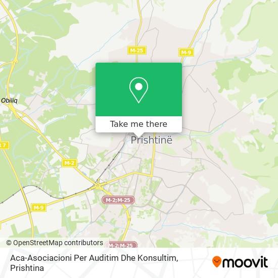 Aca-Asociacioni Per Auditim Dhe Konsultim map