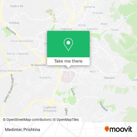 Medinter map